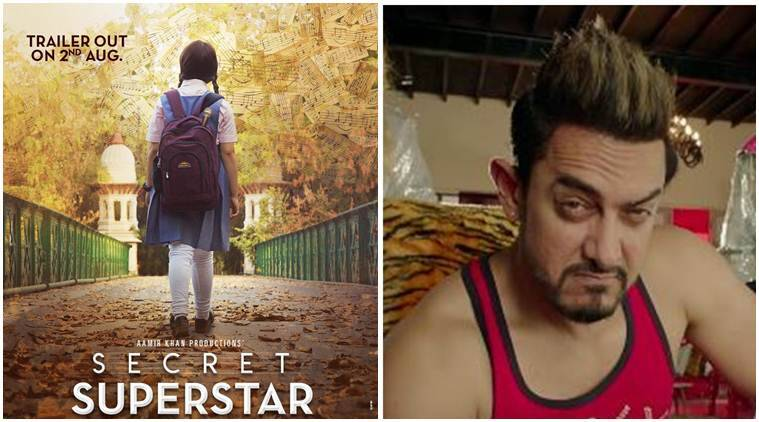 Aamir Khan shares the first poster of Secret Superstar