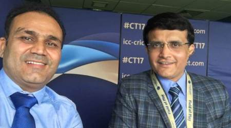 Sourav Ganguly expresses wish to play like VirenderSehwag