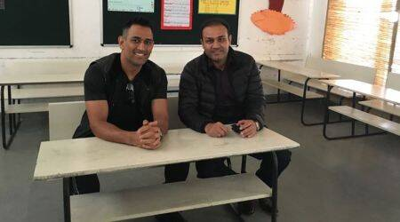 MS Dhoni, Virender Sehwag, Indian Express