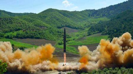 North Korea fires up rocket production programme amid signs of dramaeasing