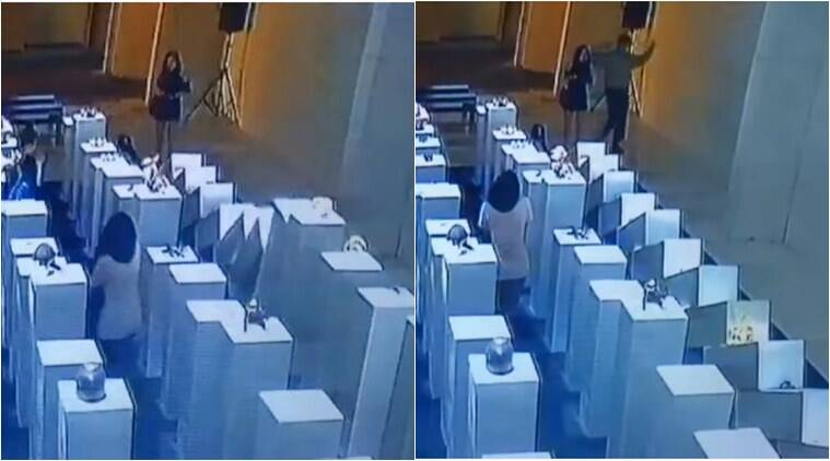 Woman's selfie causes $200000 worth of damage at Los Angeles art gallery