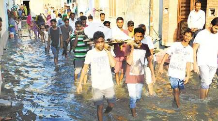 Abohar: Man dies in home flooded with sewer water for 2days