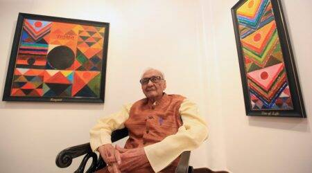 Death hasn't intervened: S H Raza's rich legacy lives on