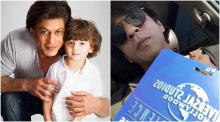 AbRam is in Los Angeles too. Shah Rukh Khan's latest tweet is proof. See photo