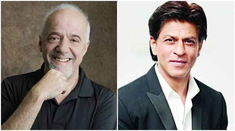 shah rukh khan to his fan paulo coelho love made me a star and  shah rukh khan paulo coelho shah rukh paulo shah rukh paulo pics