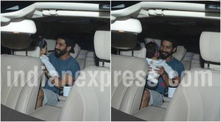 Shahid Kapoor's happy reunion with his daughter Misha will melt your hearts. See photos