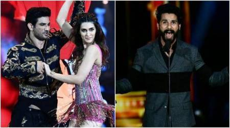 IIFA 2017 performance: Shahid Kapoor brought the house down with robotics, Sushant Singh Rajput-Kriti Sanon give off boyfriend-girlfriend vibes. Watch videos