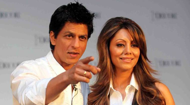 shahrukh khan, gauri khan, srk, indian express
