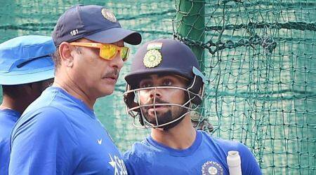 ravi shastri, virat kohli, india coach, cricket news, cricket, sports news, indian express