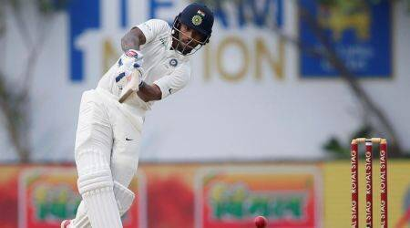 Shikhar Dhawan, India vs Sri Lanka, Indian Express