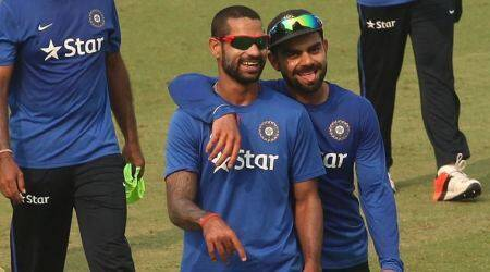 Shikhar Dhawan, Sri Lanka Test Series, Abhinav Mukund, Indian Cricket, Sports News, Latest Sports News, Indian Express, Indian Express News
