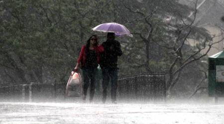 himachal weather update, himachal pradesh rainfall, shimla rainfall, rain in shimla, himachal pradesh rainfall, himachal pradesh monsoon, shimla weather, himachal pradesh temperature, weather update himachal, india news, shimla news, indian express, indian express news