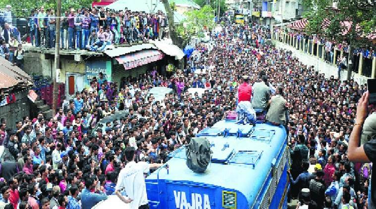Shimla schoolgirl's rape and murder case, CBI Shimla rape case,Protests in Theog Shimla, Shimla News, Indian Express News