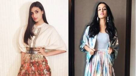Shraddha Kapoor and Athiya Shetty show us how to wear metallic without goingoverboard