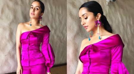 Shraddha Kapoor's bright pink off-shoulder number fails to impress