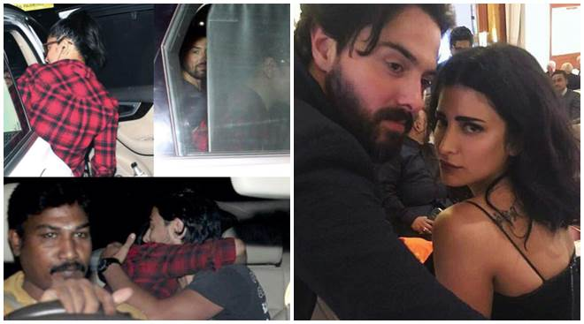 Shruti Haasan spotted again with rumoured British boyfriend. See photos of Shruti-Michael together