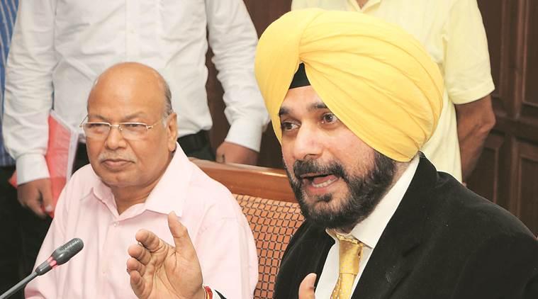 Navjot Singh Sidhu, Punjab Local Bodies Minister, punjab government