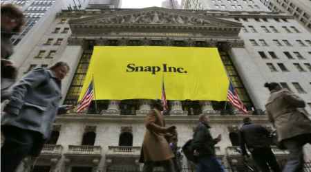 Snap shares draw bullish bets, after slipping below IPO price