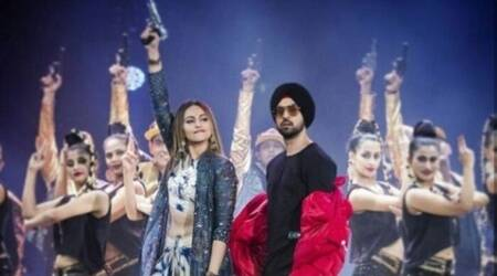 Sonakshi Sinha and Diljit Dosanjh begin shooting for their next comedy