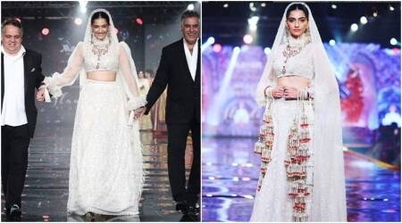 Sonam Kapoor turns into a gorgeous Indian bride for Abu Jani and Sandeep Khosla, see pics