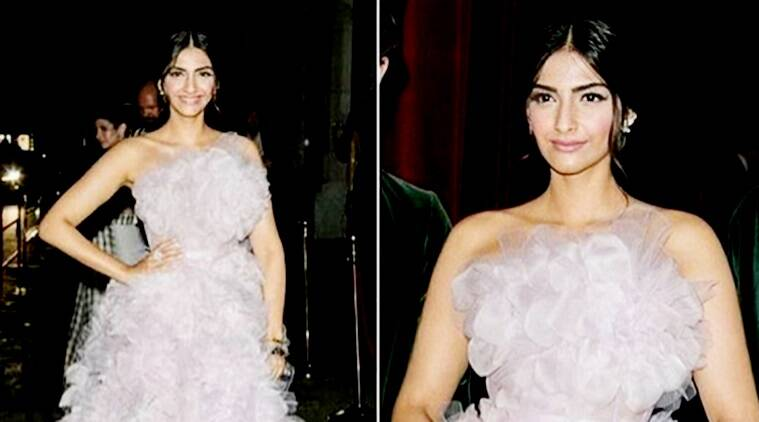 sonam kapoor, sonam kapoor paris fashion week, paris fashion week, ralph and russo, sonam kapoor ralph and russo, sonam kapoor fashion