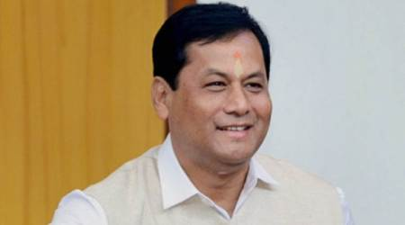 In Assam, CM Sonowal gives scooties to girls who excelled in Class XII finals
