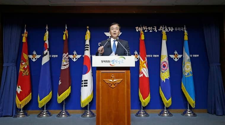 South Korea, South Korea North Korea tensions, South Korea's Defense Ministry, 1950-53 Korean War, indian express news