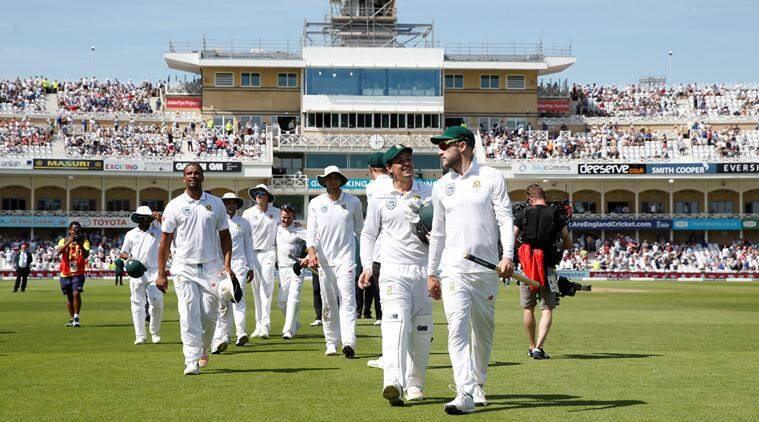 South Africa Cricket, Faf du Plessis, Lords, South Africa England Test Match, Lords Test Match, Sports News, Latest Sports News, Indian Express, Indian Express News