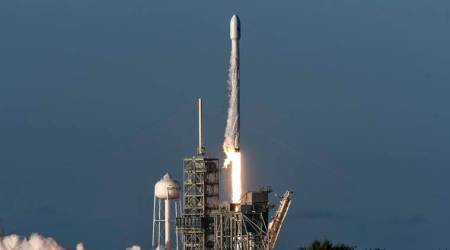 SpaceX launches communication satellite on third try