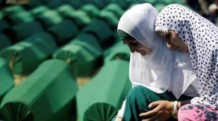Recalling 1995 genocide: In indictment of Dutch forces, tale of a larger failure in Srebrenica