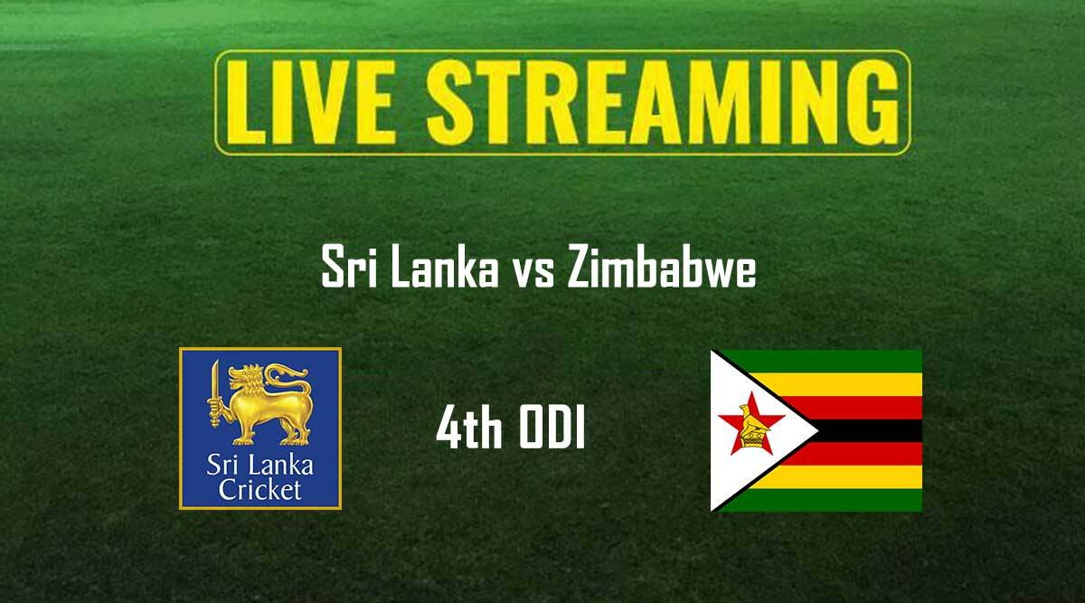 Sri Lanka vs Zimbabwe, Live streaming, 4th ODI