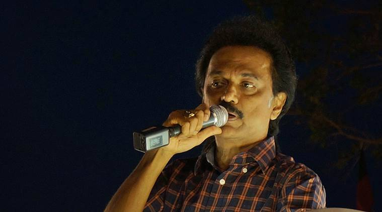 DMK, M K Stalin, Demonetisation, demonetisation anniversary, noteban, anti black money day, Stalin, indian express, india news