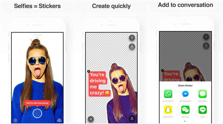 Sticky AI, a new app by Prisma Labs, will turn your selfies