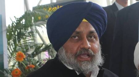 Himanshu Pathak, punjab congress leader complaint, congress leader files complaint against sukhbir, sukbir badal, sad president sukhbir singh badal, punjab news, indian express