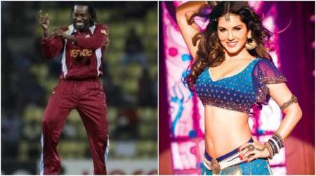 Sunny Leone impresses Chris Gayle with her moves in Laila Main Laila from Raees, watch video