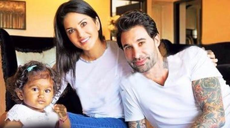 sunny leone, sunny leone daughter, sunny leone daughter name, sunny leone daughter photo,