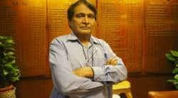 Suresh Prabhu, rail traffic, indian railways, lok sabha, rajdhani late, duronto late, train delay, indian express news, india news