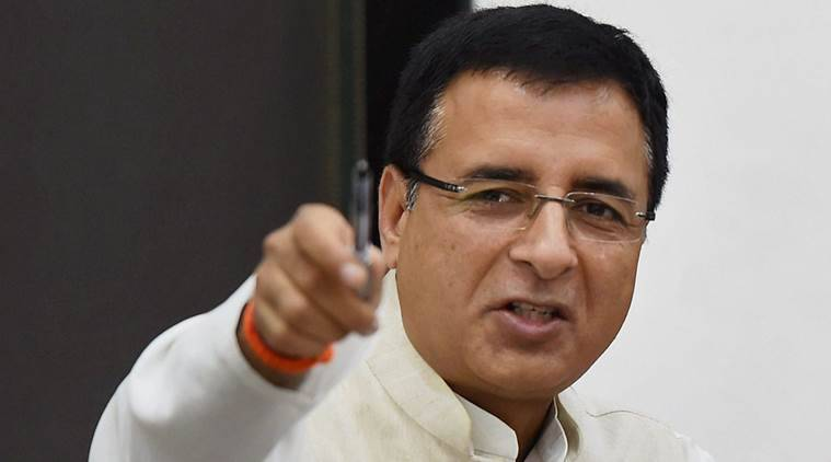 GST, Congress on GST, entrepreneurs on GST, Randeep Surjewala, indian express news