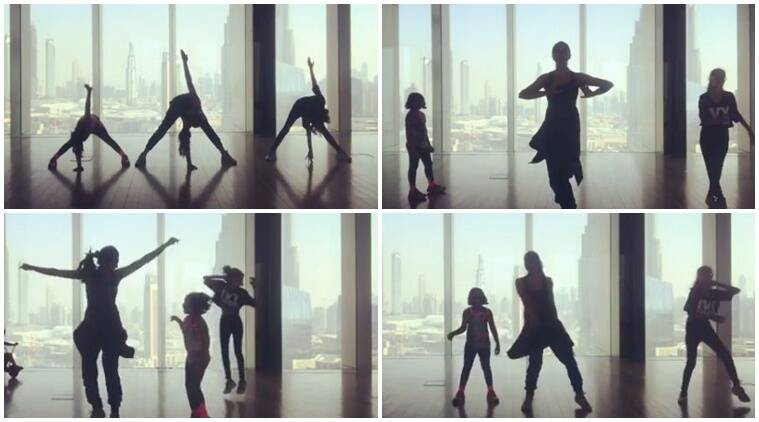 sushmita Sen, sushmita sen dance with daughters, sushmita sen video with daughters, sushmita sen dance video daughters pics,
