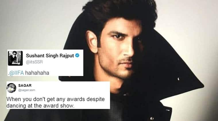 sushant singh rajput, iifa 2017, sushant singh rajput's tweet, twitter reactions, indian express, indian express news