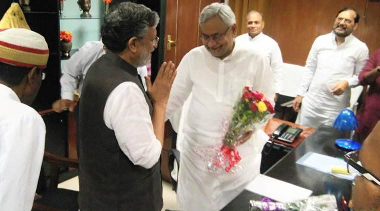 nitish kumar, bihar floor test, bihar trust vote, bihar trust vote live updates, nitish kumar bjp, bjp jdu alliance, bihar news, india news, indian express news