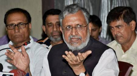 Nitish Kumar is like a 'pilot of a hijacked plane': Sushil Modi