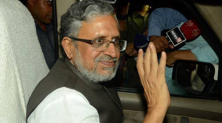 Sushil Modi, GST , tech issues of GST, Bihar's deputy chief minister, Amar Agrawal, indian express, goods and services tax, how to calculate gst, business