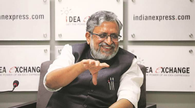 Sushil Modi, GST, goods and services tax, GST, technology issues in GST, GST Network, GST Group of Ministers, Narendra Modi, india news, indian express