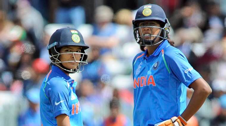 Suhsma verma, Jhulan Goswami, India vs Pakistan