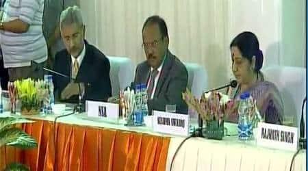 China standoff, Kashmir, sushma swaraj, Arun Jaitley, NSA Ajit Doval, Foreign Secretary, S Jaishankar, india news
