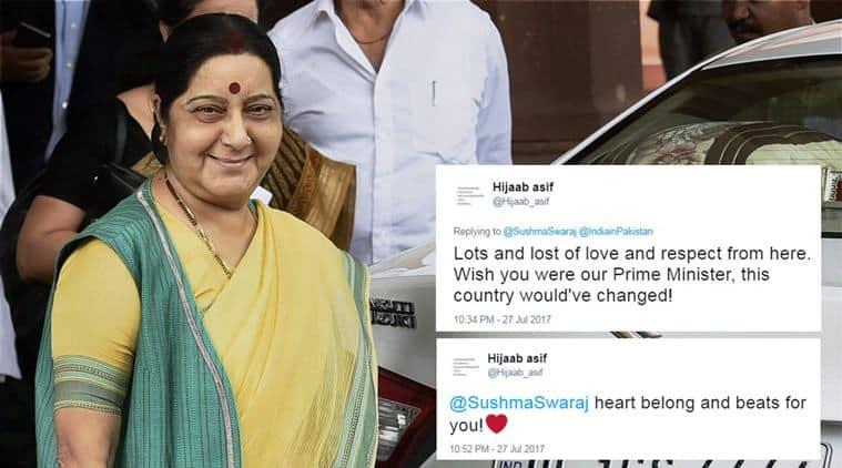 sushma swaraj, pakistan, pak patient medical visa, sartaj aziz, pak national medical visa sartaj aziz, pak patient treatment in india, india news, pakistan news, world news,
