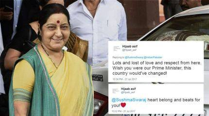 'Wish you were our Prime Minister': Pakistani woman tweets to Sushma Swaraj after she grants medical visa