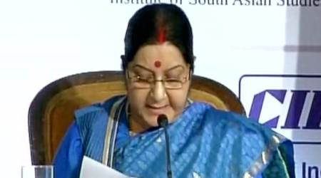ASEAN and India share geographical, historical and civilizational ties: Sushma Swaraj