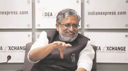 Nitish was always comfortable with BJP: Sushil Modi